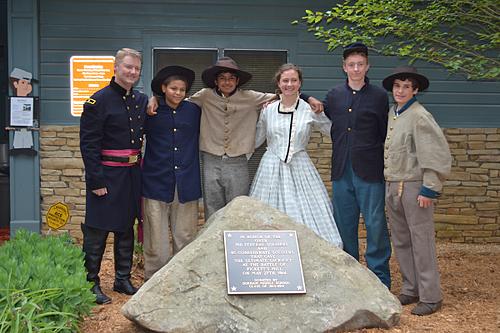 Pickett's Mill Battlefield Cast Aluminum Plaque