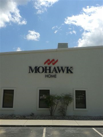 Manufacturing Co Dimensional Letter Sign Mohawk