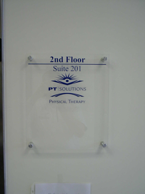 Elevator Directory Sign
