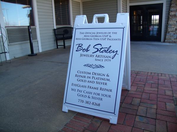 Sidewalk A-Frame Signs for Retail Stores in Marietta GA