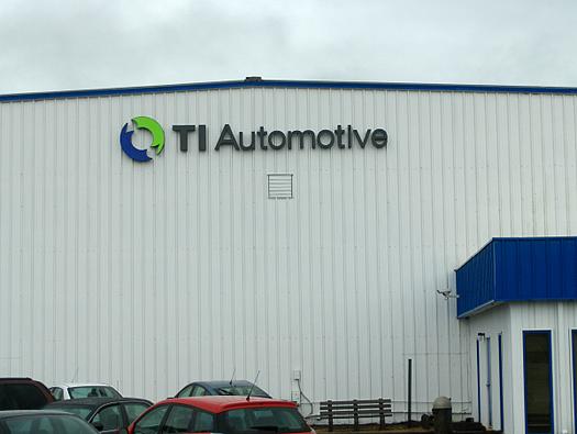 TI Automotive Channel Letters