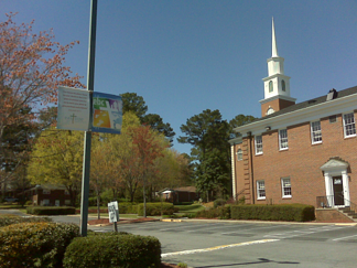 Church Pole Banners