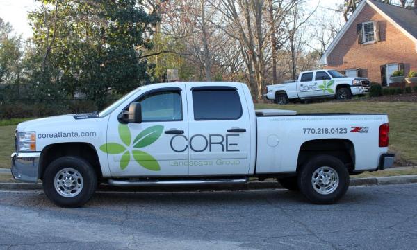 Landscape Sales & Service Trucks