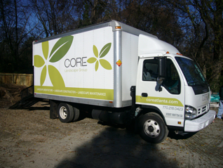 Landscape Truck Graphics