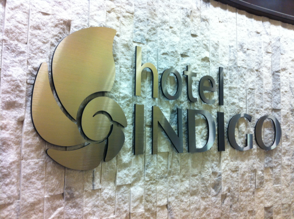 3 Dimensional Lobby Sign