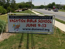 Church Banner - VBS
