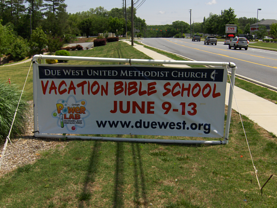 Church Banner - VBS