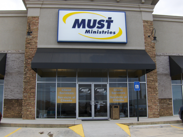 MUST Ministries Light Box with Pan Face & Door Graphics