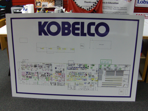 Manufacturing Informational Signs