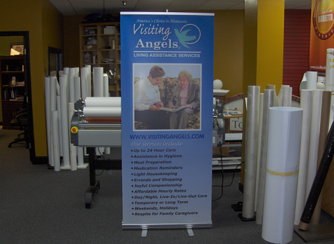 Trade Show Display Retractible Banner Stand