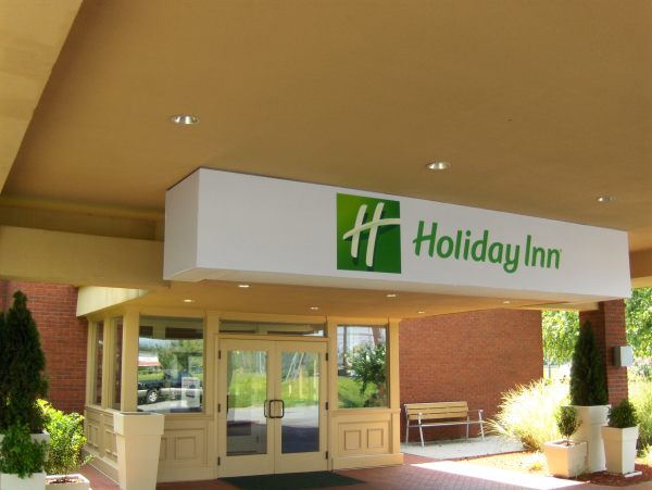 Holiday Inn Backlit Printed Awning