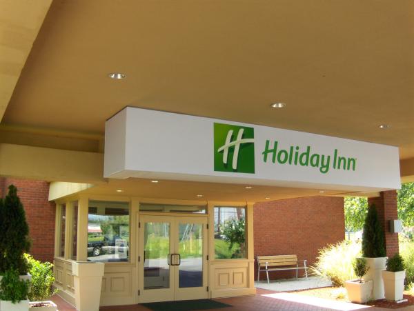 Holiday Inn Backlit Printed Awning