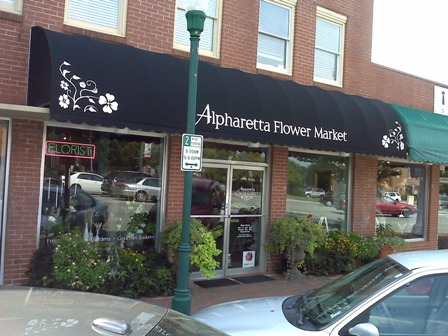 Awning and window graphics
