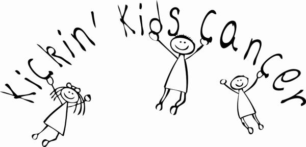 kickin kids cancer logo