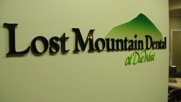 Lobby Sign Printed and Dimensional Letters resized 600
