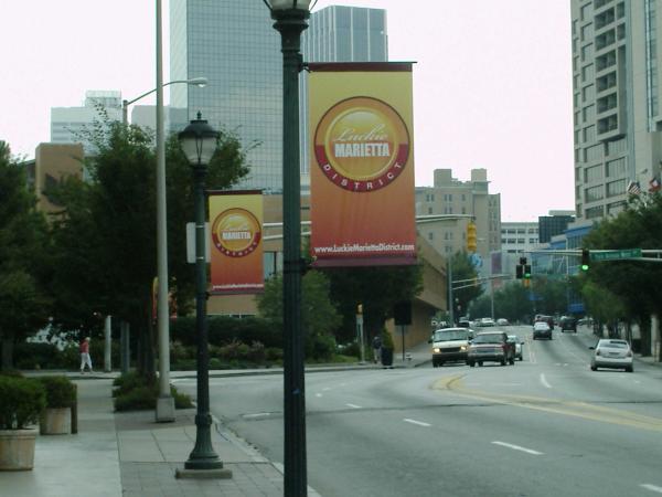 Pole or Boulevard Banner - Atlanta