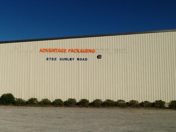 Dimensional Letter Building Sign