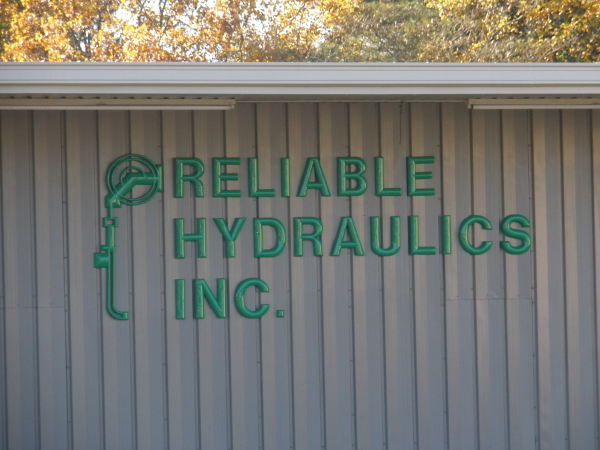 Plastic Dimensional Letters and Logo