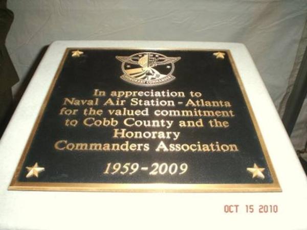Appreciation Bronze Plaque