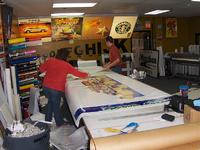Preparing Vinyl for Vehicle Wrap