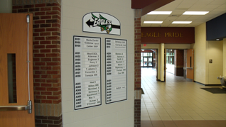 school directory sign