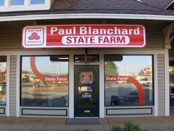 Sandblast Sign and Window Graphics
