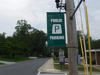 Pole Banner - Parking