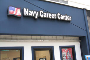 US Navy Logo Box