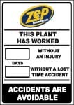 Safety Sign - Lost Time Sign