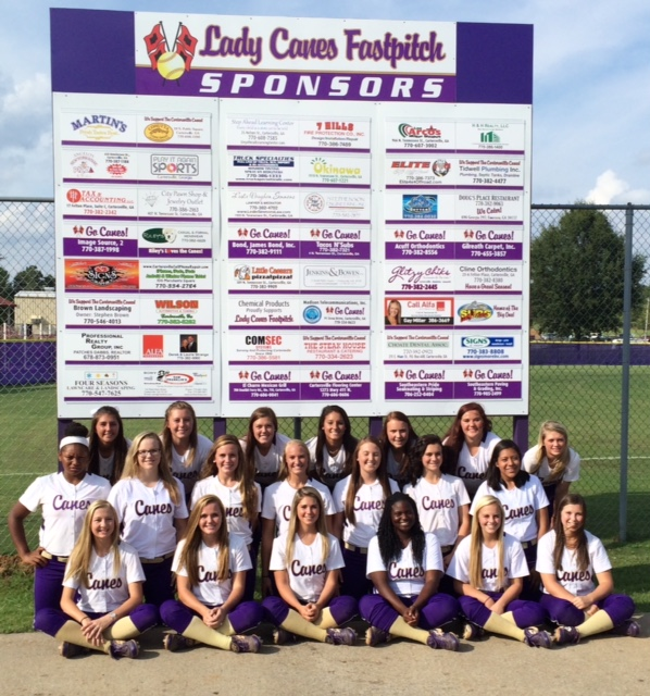 Sponsor Board Sign - Cartersville High School