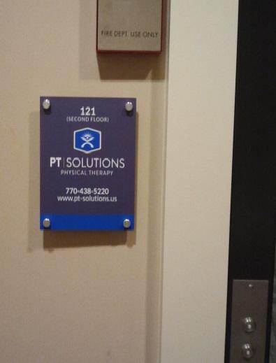 Elevator Sign Standoffs