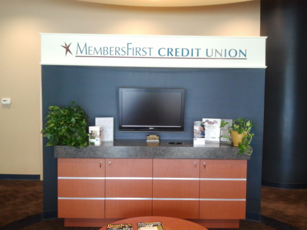 Reception Welcome Logo Sign