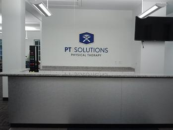 Reception 3-D Logo Sign