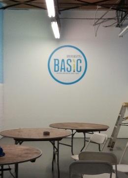Training Center Wall Logo Sign
