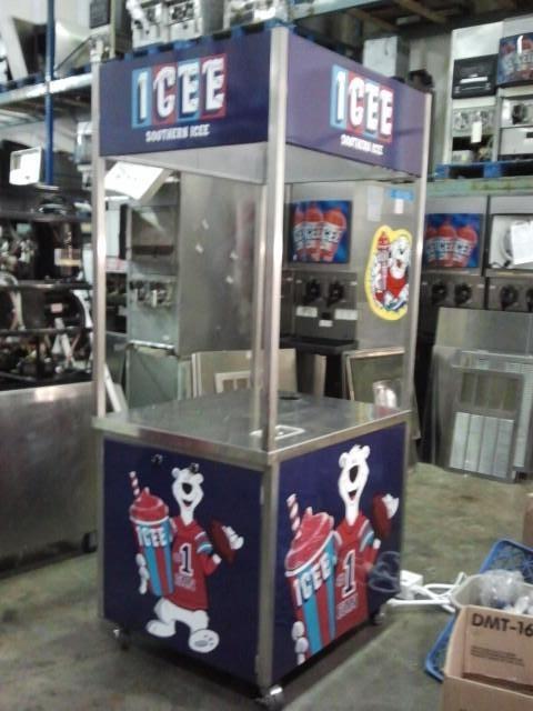 Icee Kiosk Sign Panels