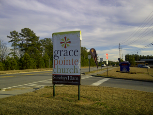 Church Toaster Cover Sign