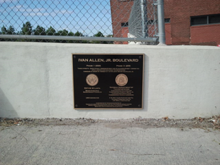 Atlanta Bridge Dedication Plaque Ivan Allen