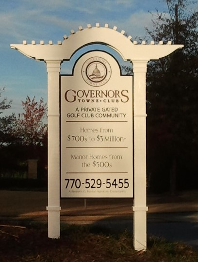 Neighborhood For Sale Sign