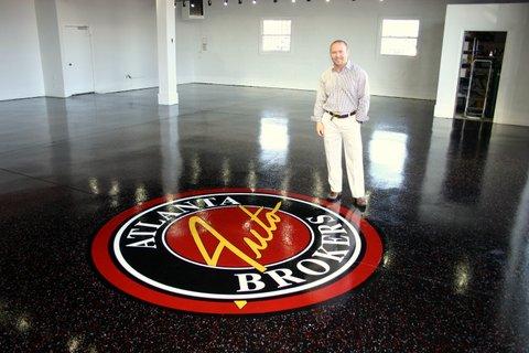 Floor Logo Auto Dealer