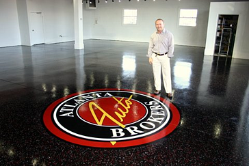 Painted Floor Logo