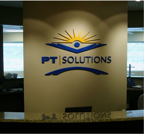 Lobby Sign - Dimensional Letters