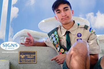 Boy_Scout_Eagle_Scout_Garcia_Cast_Bronze_5x7_Plaque_with_Old_Copper_Background_Surface_Mount.jpg