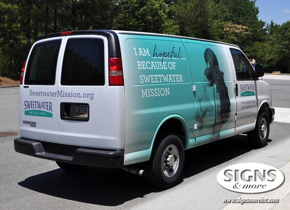 Honda Rome Ga >> Vehicle Wrap Gallery by Signs & More, Inc - Cartersville ...