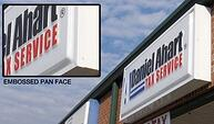 Acworth GA Pan Face Signs