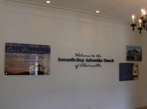 Standoff Wall Signs Marietta   Atlanta   Kennesaw GA