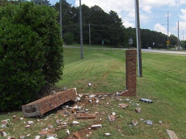 Monument Sign Refurbishing for Churches in Cartersville GA