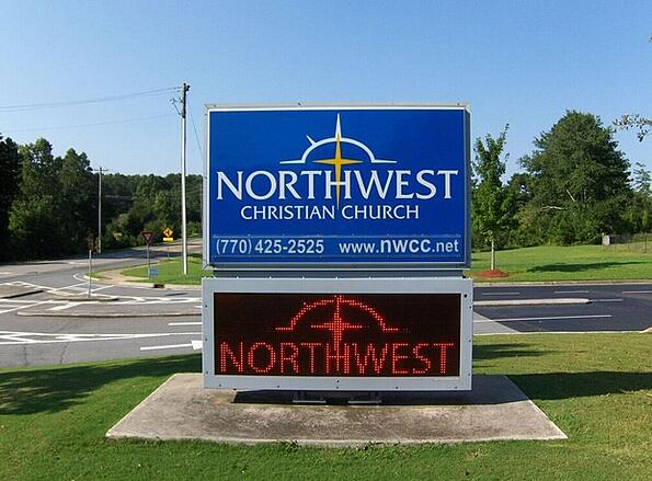 Rebranding Signs for Churches in Cartersville GA