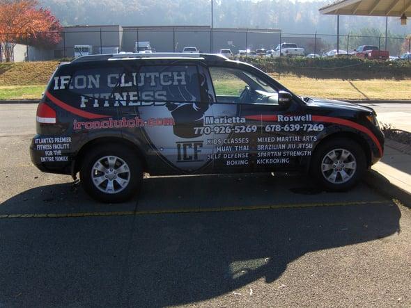 Retail Business Vehicle Wraps Atlanta
