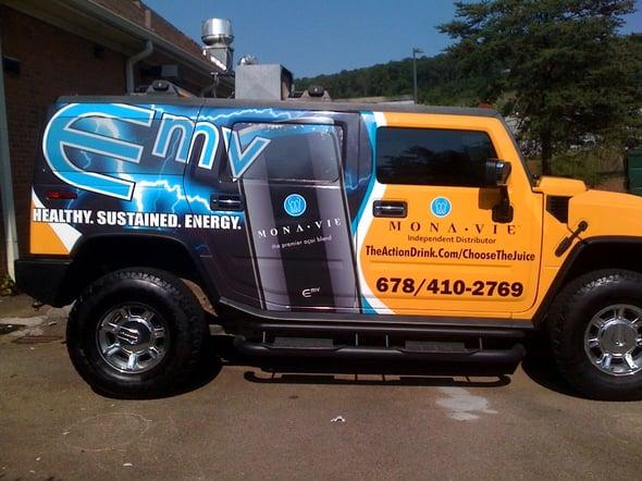 Franchise Vehicle Wraps Atlanta