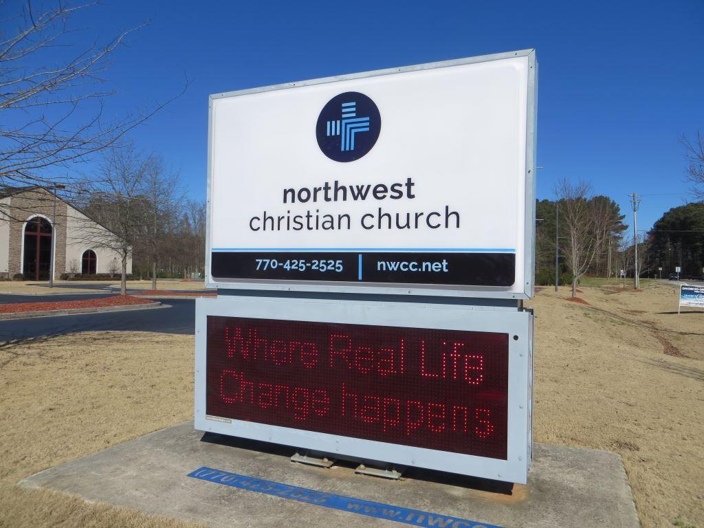 Church Pan Face Sign
